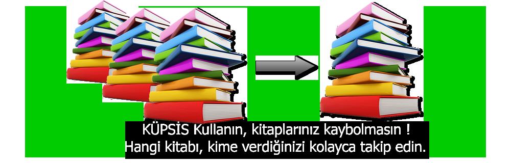 Kütüphane Programı kullanın, Kitaplarınız kaybolmasın