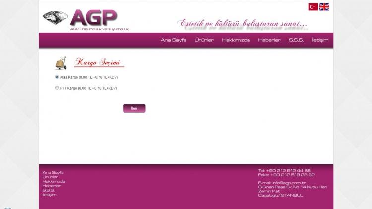 E-Ticaret Sitesi Kargo Secimi