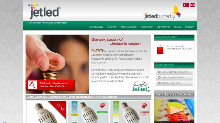 E-Ticaret Sitesi Ön Sayfa Vitrindeki Ürünler