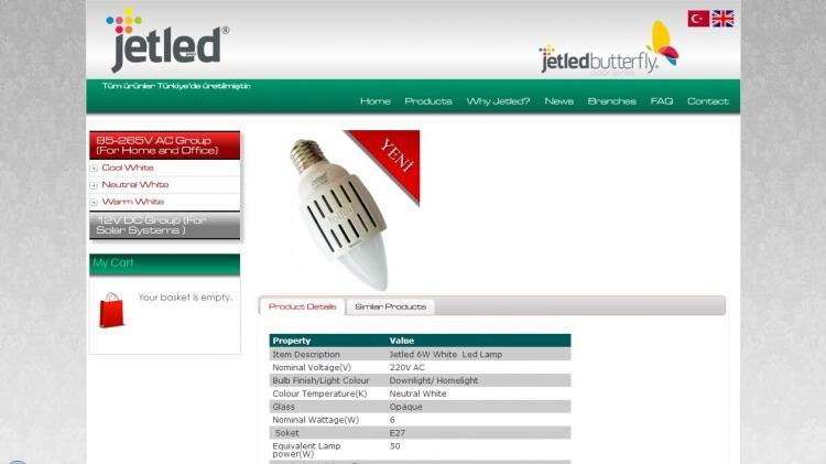 E-Ticaret Ürün Detay Sayfası