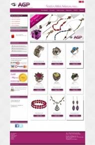 AGP E-Ticaret Web Sitesi