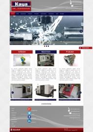 KayaCNC Kurumsal Web Sitesi Tasarımı