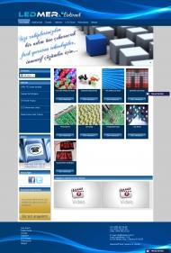 Ledmer Kurumsal Web Sitesi Tasarımı