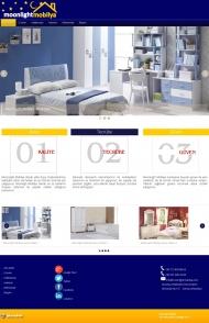 Moonlight Mobilya Kurumsal Web Sitesi Tasarımı